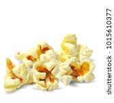 tasty popcorn. elements for... | Shutterstock .eps vector #1015610377