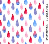 seamless pattern with... | Shutterstock . vector #1015652461