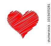 hand drawn heart. desighn...   Shutterstock .eps vector #1015655281