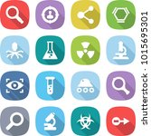 flat vector icon set  ... | Shutterstock .eps vector #1015695301