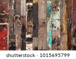 old wood background | Shutterstock . vector #1015695799