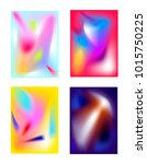 set of bright backgrounds of... | Shutterstock .eps vector #1015750225