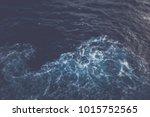 blurred ocean background with... | Shutterstock . vector #1015752565