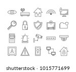 security  protect and...   Shutterstock .eps vector #1015771699