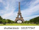 eiffel tower  tourist... | Shutterstock . vector #101577547