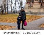 gomel  belarus november 7  2017 ... | Shutterstock . vector #1015778194
