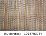woven mat  for background. | Shutterstock . vector #1015783759