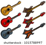 cartoon colored electric and...   Shutterstock .eps vector #1015788997