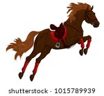 painted illustration of a... | Shutterstock .eps vector #1015789939