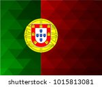 portugal flag vector...   Shutterstock .eps vector #1015813081