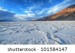 Badwater Salt Lake At Death...