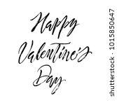 happy valentine's day message.... | Shutterstock .eps vector #1015850647