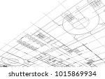 architecture building design | Shutterstock . vector #1015869934