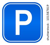 parking sign | Shutterstock . vector #101587819