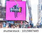 new york city  usa   october 28 ... | Shutterstock . vector #1015887685
