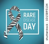 poster for rare disease... | Shutterstock .eps vector #1015895134