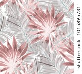 watercolor seamless pattern... | Shutterstock .eps vector #1015895731