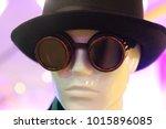 steampunk  head of a male... | Shutterstock . vector #1015896085