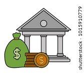 isolated bank design   Shutterstock .eps vector #1015910779