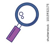 magnifying glass isolated icon | Shutterstock .eps vector #1015932175