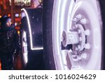 minsk  belarus  december 24 ... | Shutterstock . vector #1016024629