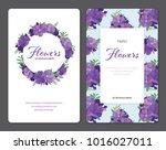 beautiful purple princess... | Shutterstock .eps vector #1016027011