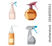 sprayer icon set. cartoon set...   Shutterstock .eps vector #1016033311