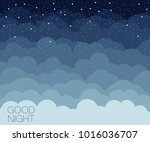 Night Time Sky Background. Goo...