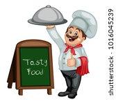 cartoon illustration of a... | Shutterstock .eps vector #1016045239