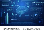abstract technology science... | Shutterstock .eps vector #1016046421