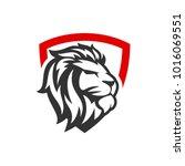 Stock vector lion logo template 1016069551