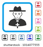 enjoy catholic priest vector... | Shutterstock .eps vector #1016077555