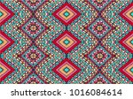 indian embroidery. geometric... | Shutterstock .eps vector #1016084614
