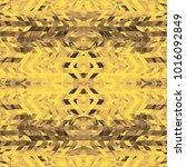 Bright Kaleidoscope Chevron...