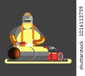 big welder in work | Shutterstock .eps vector #1016113759