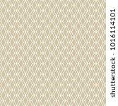 golden mesh seamless pattern.... | Shutterstock .eps vector #1016114101