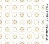 vector gold and white... | Shutterstock .eps vector #1016114419