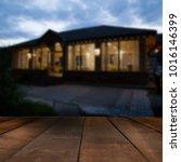 comfortable log house hotel for ... | Shutterstock . vector #1016146399