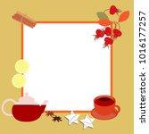 vector illustration of a frame. ... | Shutterstock .eps vector #1016177257