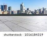 empty marble floor with... | Shutterstock . vector #1016184319
