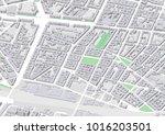 vector city map of berlin... | Shutterstock .eps vector #1016203501