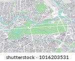 city map of berlin tiergarten... | Shutterstock . vector #1016203531