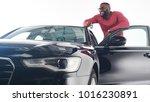 feeling proud. attractive young ...   Shutterstock . vector #1016230891