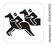 Racing Horse And Jockey...