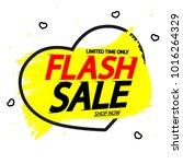 flash sale  valentines day... | Shutterstock .eps vector #1016264329