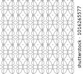 seamless vector pattern in... | Shutterstock .eps vector #1016265577