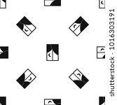 nightly window pattern repeat...   Shutterstock . vector #1016303191