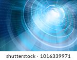 earth high technology... | Shutterstock . vector #1016339971