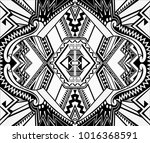 turkish abstract pattern. for... | Shutterstock . vector #1016368591