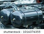 air tank for truck 35 liters | Shutterstock . vector #1016376355